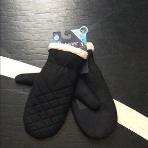Isotoner mittens (women's)